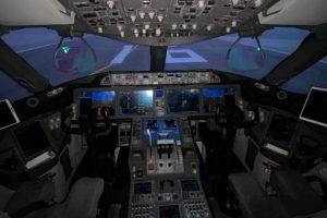 United Pilots of WestJet B787 HUD in use