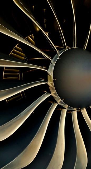 United Pilots of WestJet jet turbine blades